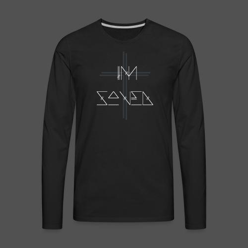 I'm Saved - Men's Premium Long Sleeve T-Shirt