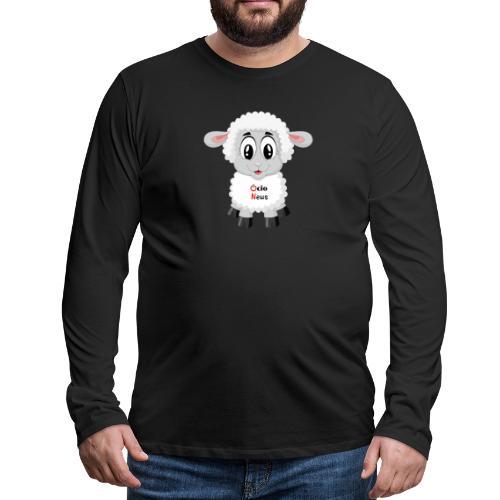 Lamb OcioNews - Men's Premium Long Sleeve T-Shirt