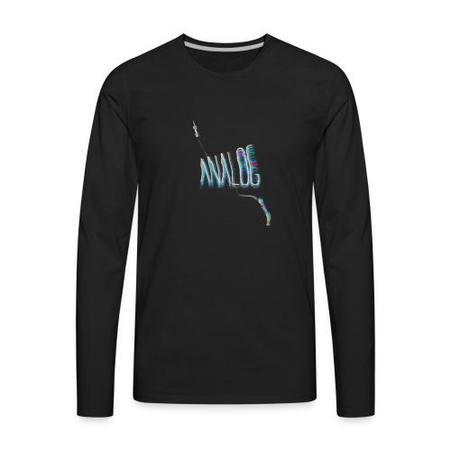 ANALOG MAIN - Men's Premium Long Sleeve T-Shirt