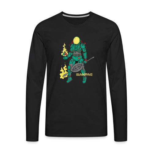 Afronaut - Men's Premium Long Sleeve T-Shirt