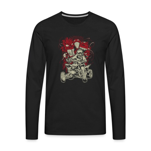 ATV Quad Monsters - Men's Premium Long Sleeve T-Shirt
