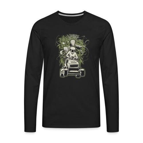 Lawn Mower Demons - Men's Premium Long Sleeve T-Shirt