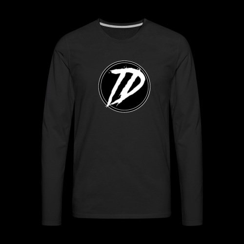 Team DEBUG Logo - Men's Premium Long Sleeve T-Shirt