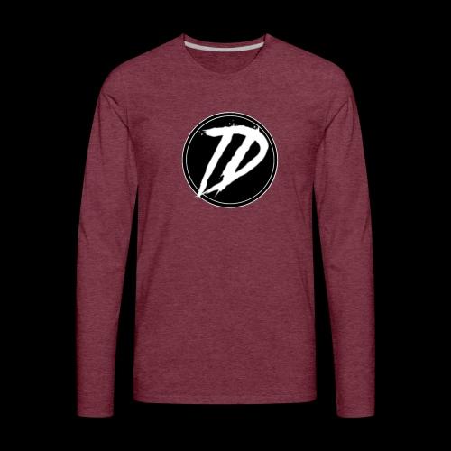Team DEBUG Logo - Men's Premium Long Sleeve T-Shirt