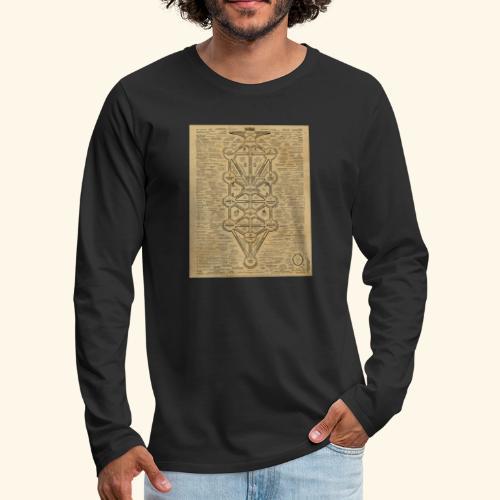 cult of baal map - Men's Premium Long Sleeve T-Shirt