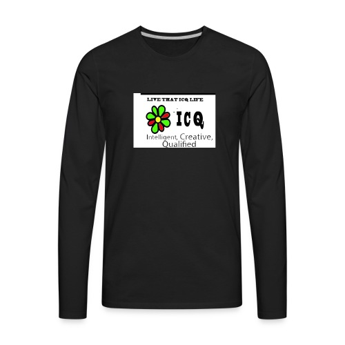 bunk new ICQ edited 33 - Men's Premium Long Sleeve T-Shirt