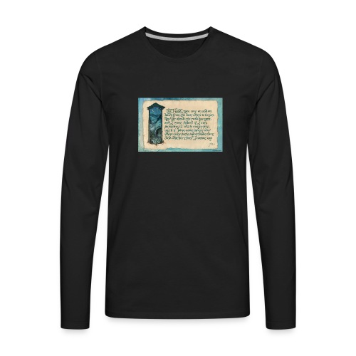A Parkie's Tale-The Road Goes Ever On - Men's Premium Long Sleeve T-Shirt