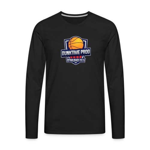 DUNKIME Producions Logo - Men's Premium Long Sleeve T-Shirt