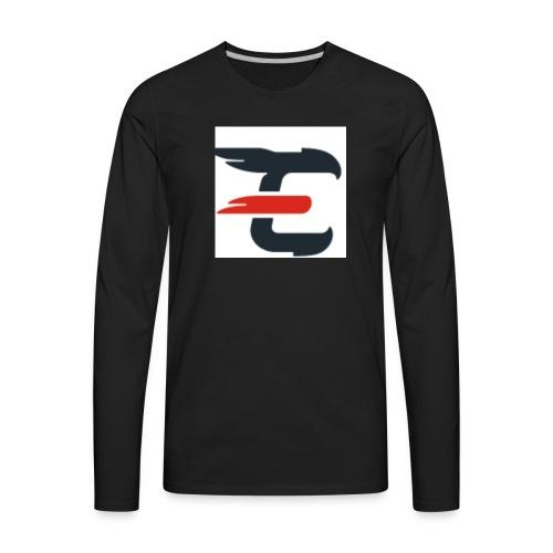 exxendynce logo - Men's Premium Long Sleeve T-Shirt