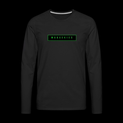 Maquekies Merch - Men's Premium Long Sleeve T-Shirt