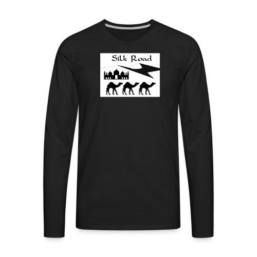 Silk Road - Men's Premium Long Sleeve T-Shirt