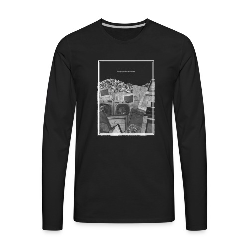 voltaire - Men's Premium Long Sleeve T-Shirt