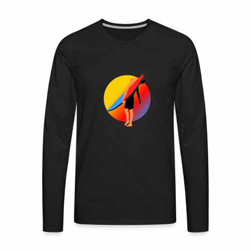 SURFER - Men's Premium Long Sleeve T-Shirt