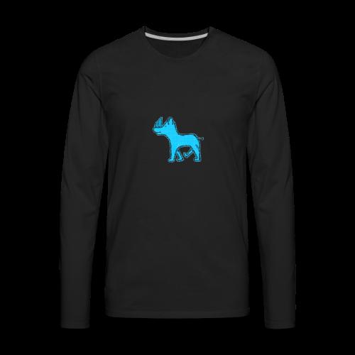 The Diamond Rhino - Men's Premium Long Sleeve T-Shirt