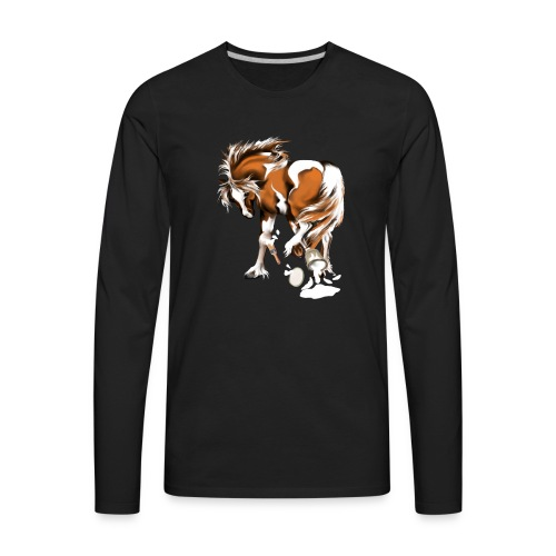 Paints and Paints.... - Men's Premium Long Sleeve T-Shirt