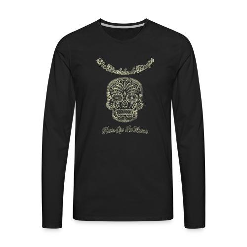 Men's Dos Tonalades Vato Shirt - Men's Premium Long Sleeve T-Shirt
