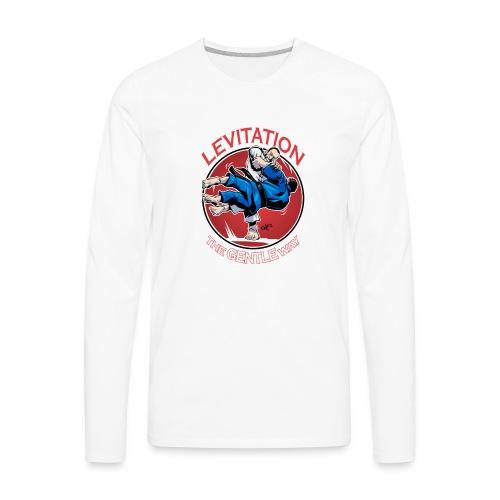 Judo Levitation for dark shirt - Men's Premium Long Sleeve T-Shirt