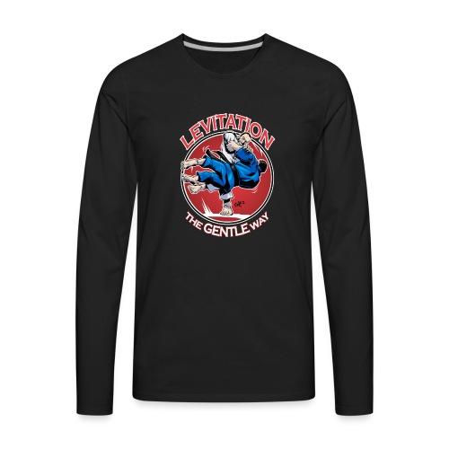 Judo Shirt - Levitation for dark shirt - Men's Premium Long Sleeve T-Shirt