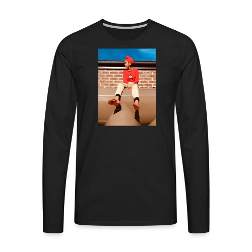 Flamin_Danger - Men's Premium Long Sleeve T-Shirt
