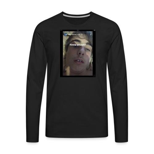 Finna Smesh? - Men's Premium Long Sleeve T-Shirt