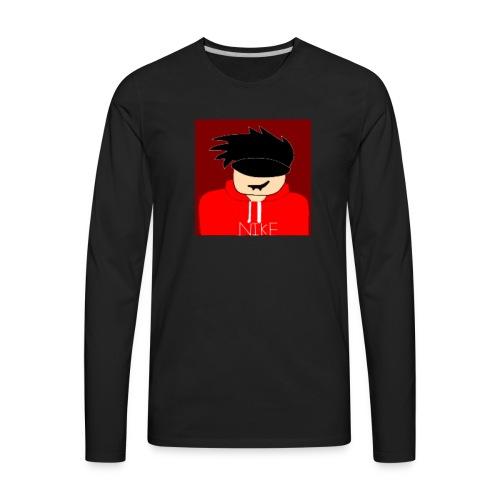 my youtube roblox GFX icon - Men's Premium Long Sleeve T-Shirt