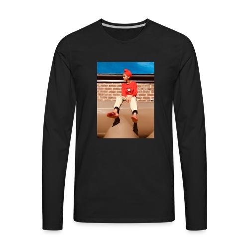 Flamin_Danger - Men's Premium Long Sleeve T-Shirt