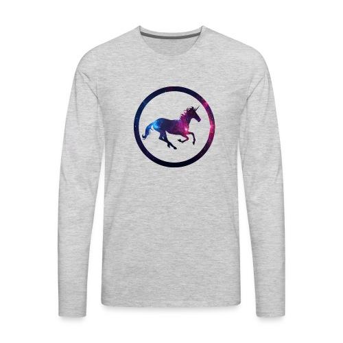 Believe Unicorn Universe 1 - Men's Premium Long Sleeve T-Shirt