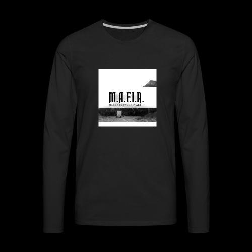 Road to Success(Mafia) - Men's Premium Long Sleeve T-Shirt