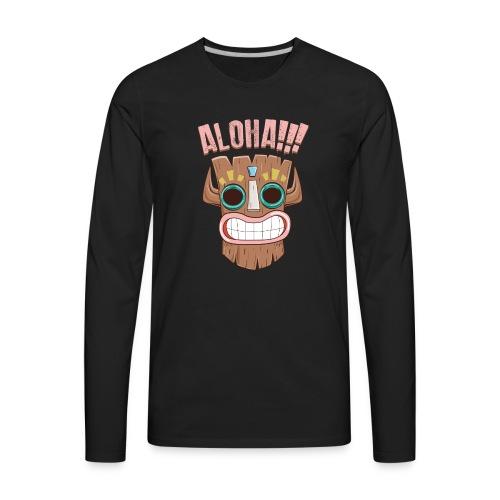 ALOHA 01 - Men's Premium Long Sleeve T-Shirt