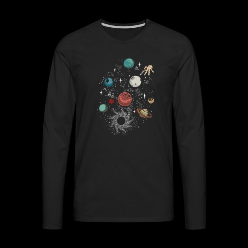 Space game - Men's Premium Long Sleeve T-Shirt