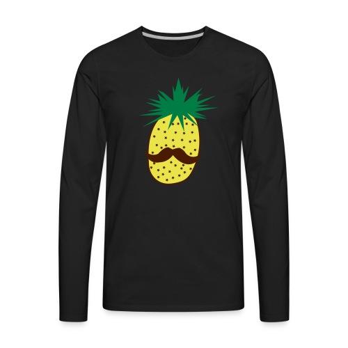 LUPI Pineapple - Men's Premium Long Sleeve T-Shirt