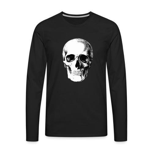Human Skull - Men's Premium Long Sleeve T-Shirt