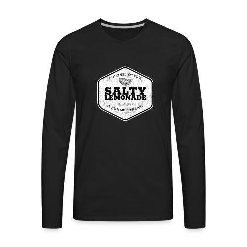 salty lemonade aged - Men's Premium Long Sleeve T-Shirt