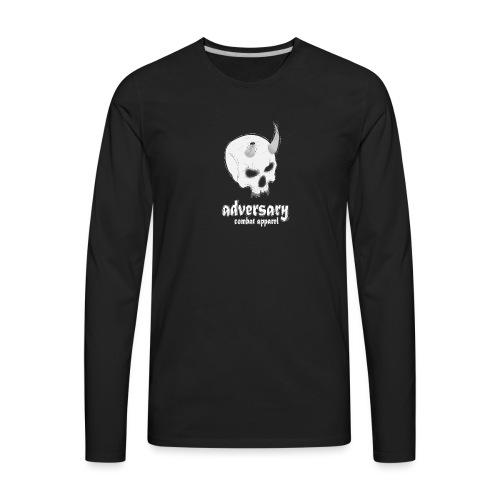 The demon skull - Men's Premium Long Sleeve T-Shirt