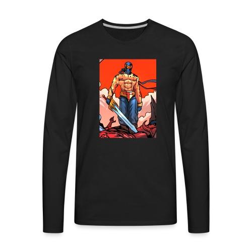 P4TD png - Men's Premium Long Sleeve T-Shirt