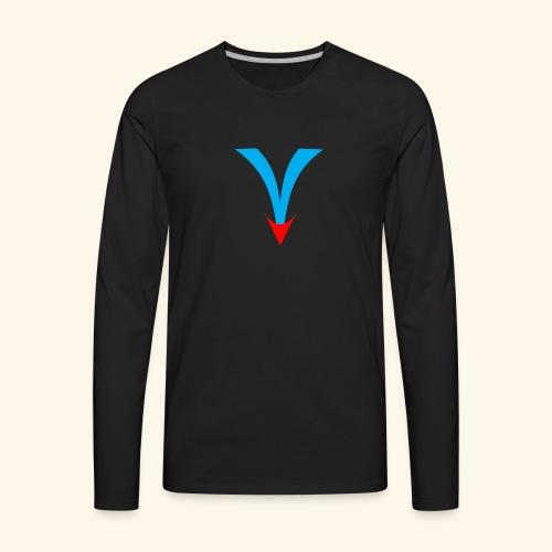 Simple V - Men's Premium Long Sleeve T-Shirt
