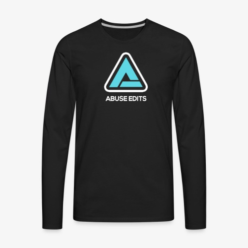Abuse Edits - Men's Premium Long Sleeve T-Shirt
