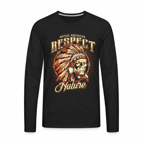 Respect nature - Men's Premium Long Sleeve T-Shirt