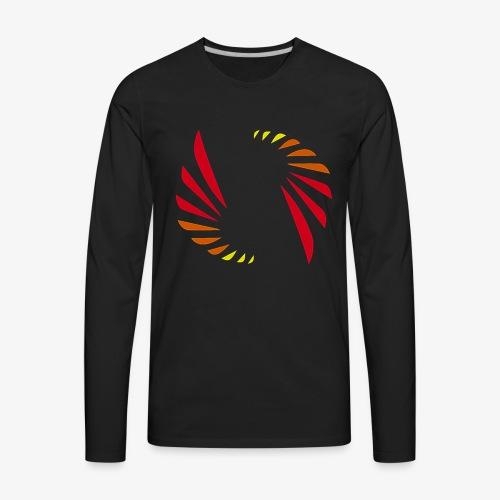 Hot Colors Logo - Men's Premium Long Sleeve T-Shirt