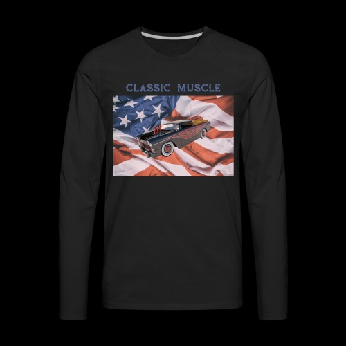 CLASSIC MUSCLE - Men's Premium Long Sleeve T-Shirt