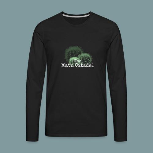 Math Citadel Cactus Trio - Men's Premium Long Sleeve T-Shirt