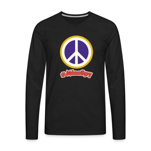 Fillmore Peace Explorer Badge - Men's Premium Long Sleeve T-Shirt