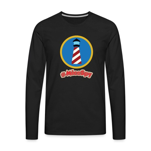 Storybook Land Canal Boats Explorer Badge - Men's Premium Long Sleeve T-Shirt