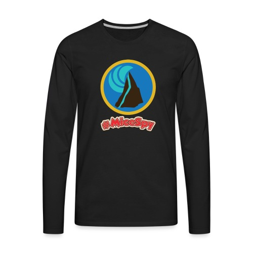 Splash Mountain Explorer Badge - Men's Premium Long Sleeve T-Shirt