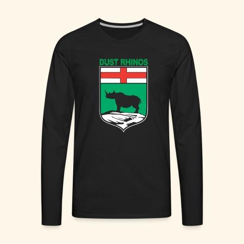 Manitoba Rhino - Men's Premium Long Sleeve T-Shirt