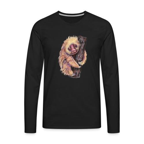 Sloth - Men's Premium Long Sleeve T-Shirt