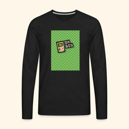 oh boy handy - Men's Premium Long Sleeve T-Shirt