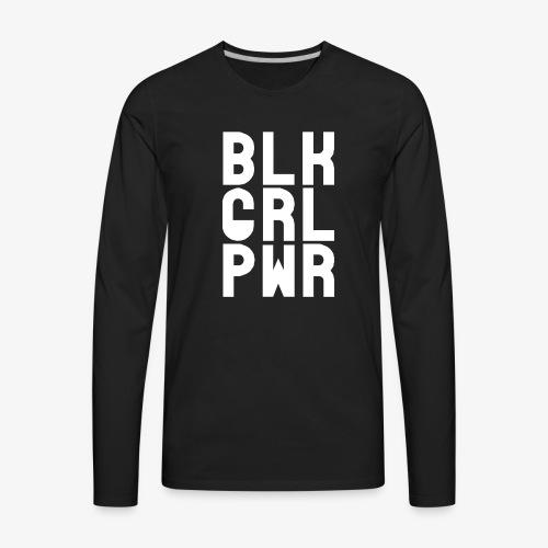 Black Girl Power - Men's Premium Long Sleeve T-Shirt