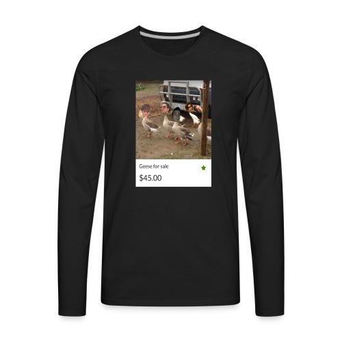 the___gaggle - Men's Premium Long Sleeve T-Shirt