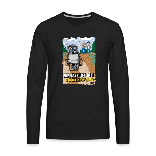 Beer Buggy Lift Off - Men's Premium Long Sleeve T-Shirt